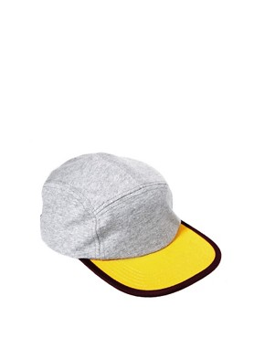 Image 1 ofASOS Jersey 5 Panel Cap