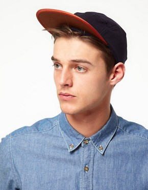 Image 2 ofASOS Jersey 5 Panel Cap