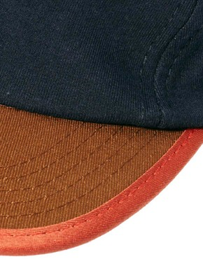Image 3 ofASOS Jersey 5 Panel Cap
