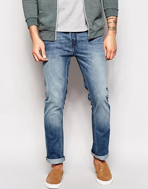 French Connection Bleached Out Jeans in Slim Fit