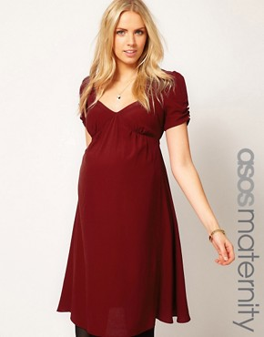 Image 1 ofASOS Maternity Tea Dress