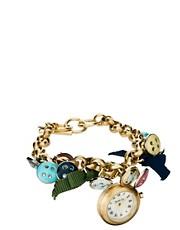 Accessorize Ladies Charm Bracelet Watch