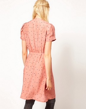Image 2 ofSessun Silk Printed Tea Dress
