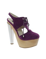 Messeca May Suede Platform Shoes