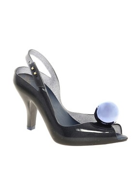 Image 1 ofVivienne Westwood for Melissa Lady Dragon VII Globe Heeled Sandals