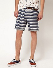 River Island Stripe Shorts