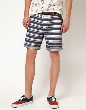 Image 1 ofRiver Island Stripe Shorts