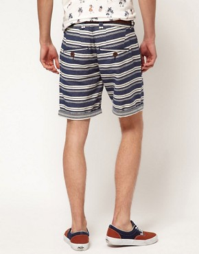 Image 2 ofRiver Island Stripe Shorts