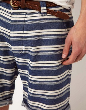 Image 3 ofRiver Island Stripe Shorts