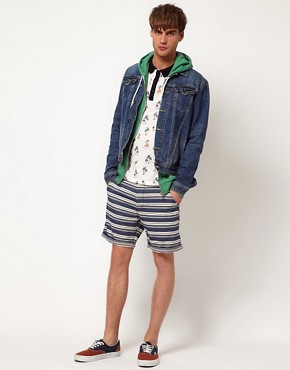 Image 4 ofRiver Island Stripe Shorts