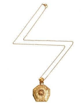 Image 2 of River Island Perfume Bottle Necklace