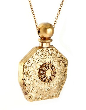 Image 4 of River Island Perfume Bottle Necklace