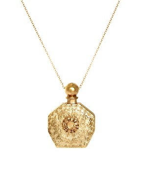 Image 1 of River Island Perfume Bottle Necklace