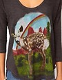 Image 3 ofLocal Celebrity Deer Print Top