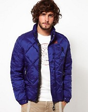 G Star Jacket Quilted Nylon Bomber