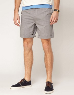 Image 1 ofASOS Oxford Shorts