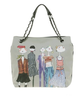 Image 1 ofLove Moschino Charming Fashion Tote
