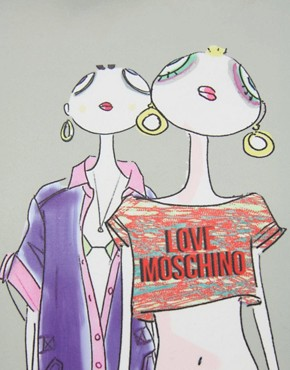 Image 4 ofLove Moschino Charming Fashion Tote