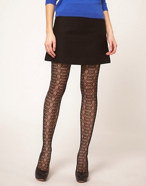 Image 1 ofASOS Catherine Wheel Tights