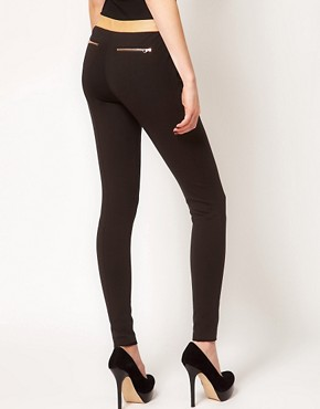 Image 2 ofTed Baker Contrast Waist Tailored Trouser