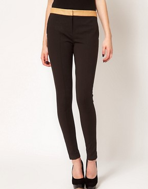 Image 4 ofTed Baker Contrast Waist Tailored Trouser
