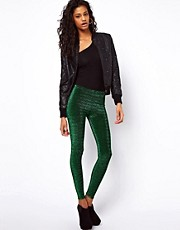 ASOS Leggings in Lurex