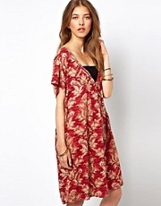 Ganni Dress in Tapestry Print