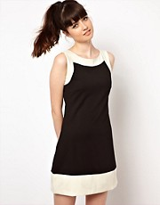 Pop Boutique Colour Block Shift Dress