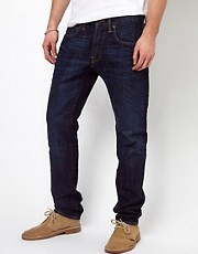 Edwin Jeans ED-55 Relaxed Tapered Red Listed Selvage Burner