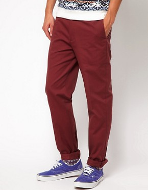 Image 1 ofRiver Island Thomas Chinos