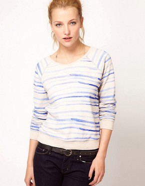 Image 1 ofLevi&#39;s Striped Sweatshirt