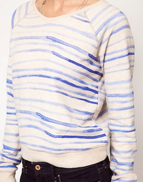 Image 3 ofLevi&#39;s Striped Sweatshirt