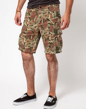 Image 1 ofEdwin Bermuda Shorts Regular Fit Camouflage
