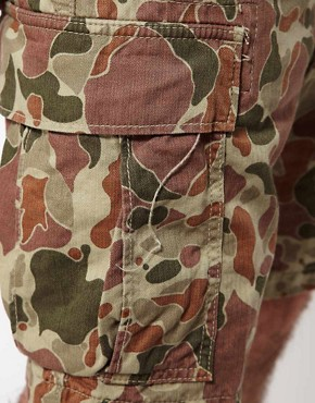 Image 3 ofEdwin Bermuda Shorts Regular Fit Camouflage
