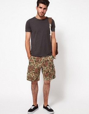 Image 4 ofEdwin Bermuda Shorts Regular Fit Camouflage