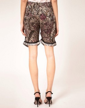 Image 2 ofPreen Line Shorts Floral &amp; Animal Print