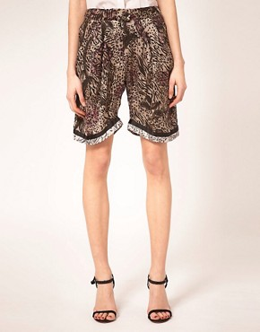 Image 4 ofPreen Line Shorts Floral &amp; Animal Print