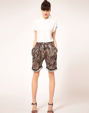 Image 1 ofPreen Line Shorts Floral &amp; Animal Print