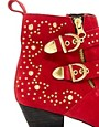 Image 2 ofRiver Island Saline Studded Boots