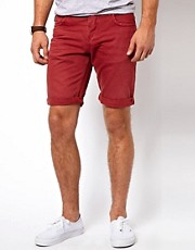 Jack &amp; Jones Washed Denim Shorts