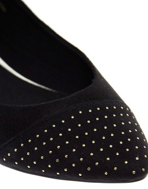 Image 2 ofASOS LILY Studded Point Ballet Flats