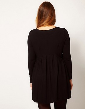 Image 2 ofASOS CURVE Dress with Ruffle