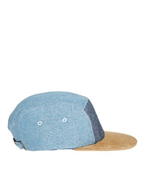 Image 4 ofASOS 5 Panel with Contrast Peak and Front Panel