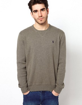 Image 1 ofPolo Ralph Lauren Jumper with V Insert