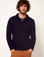 ASOS Textured Shawl Cardigan