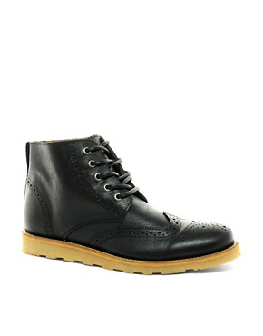 Image 1 ofRiver Island Brogue Boots