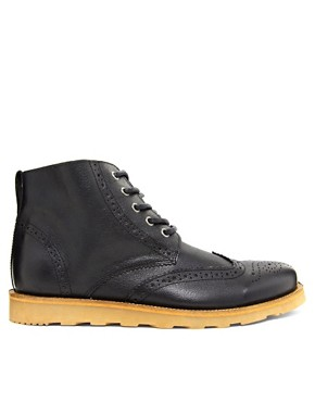 Image 4 ofRiver Island Brogue Boots