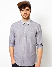 ASOS Oxford Shirt With Contrast Collar