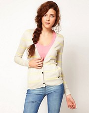 Roxy Stripe Cardigan