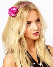 Johnny Loves Rosie Rose Floral Headband